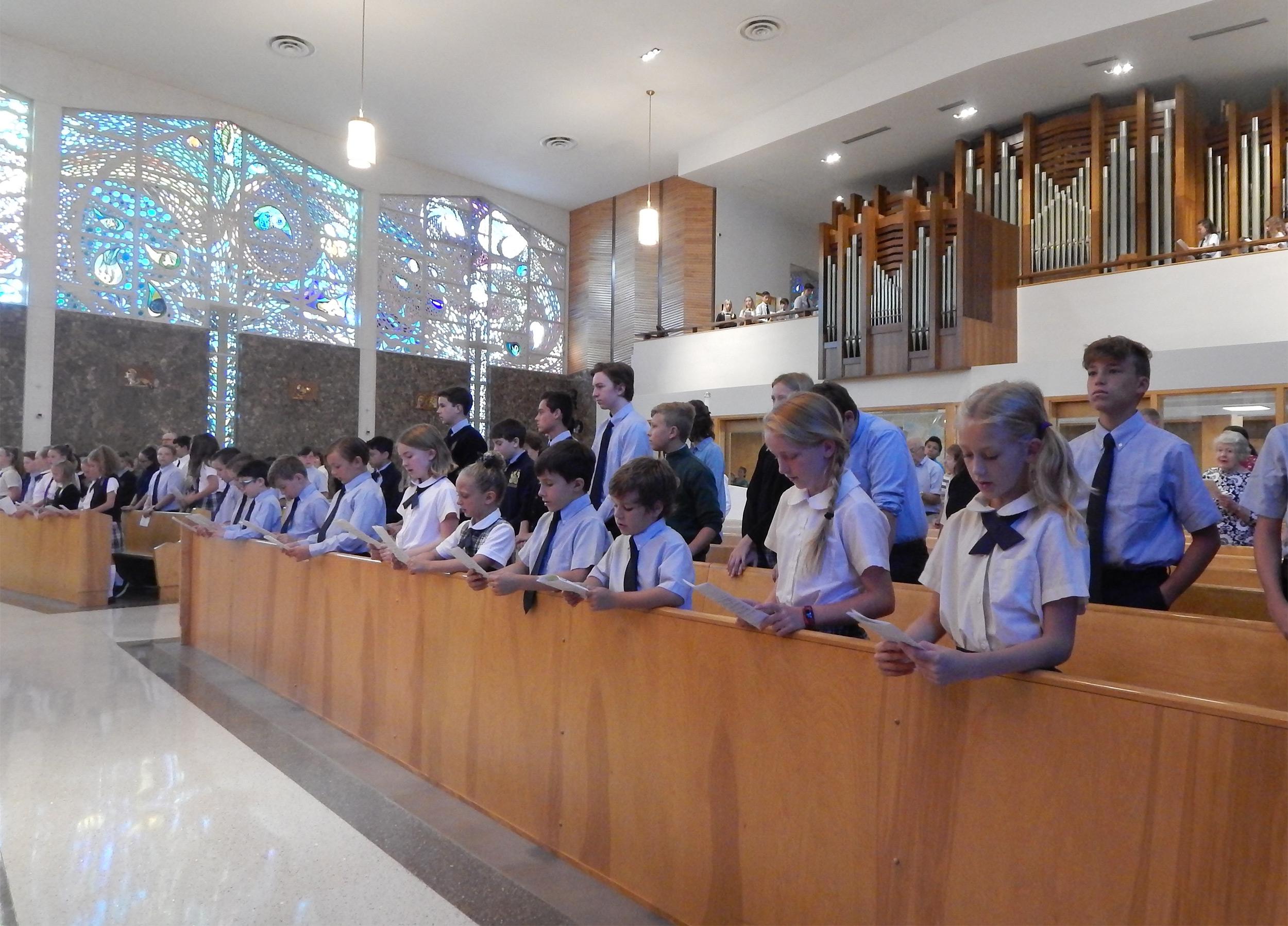 All School Mass 3
